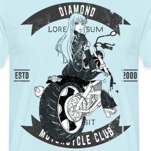 bikergirl - Men's T-Shirt