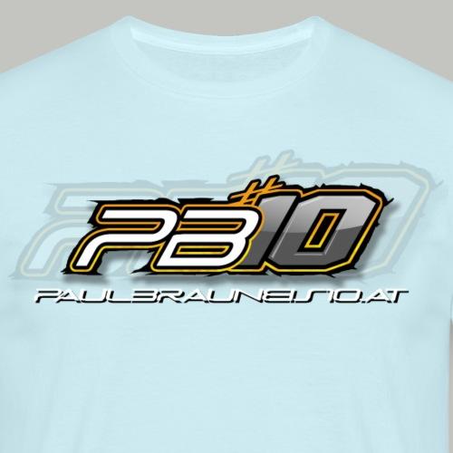 PB-10-LOGO - Männer T-Shirt
