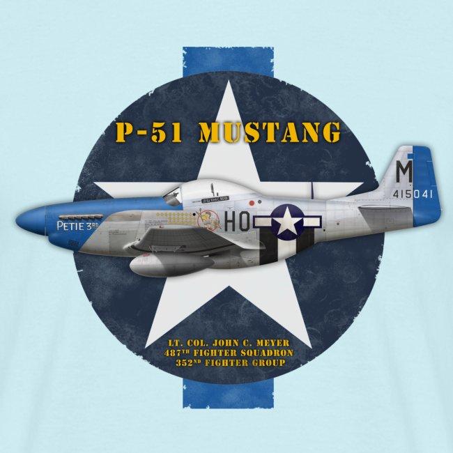 P-51D Mustang Petie 3rd
