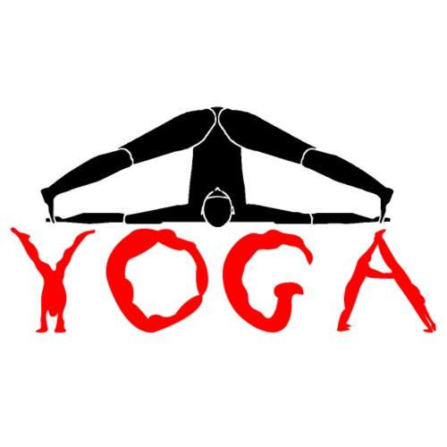 yoga yogi nero pace amore namaste sport art - Maglietta da uomo