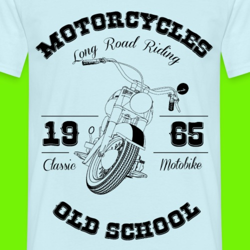 Classic Motobike - Männer T-Shirt