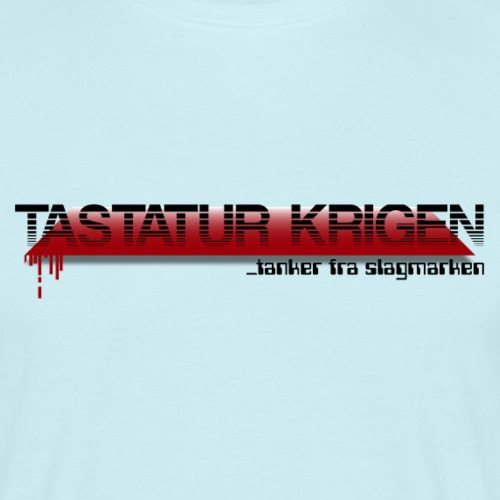 Tastatur Krigen - Herre-T-shirt