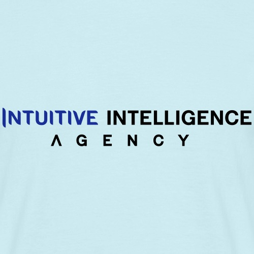 Intuitive Intelligence Agency Logo 2 - Männer T-Shirt