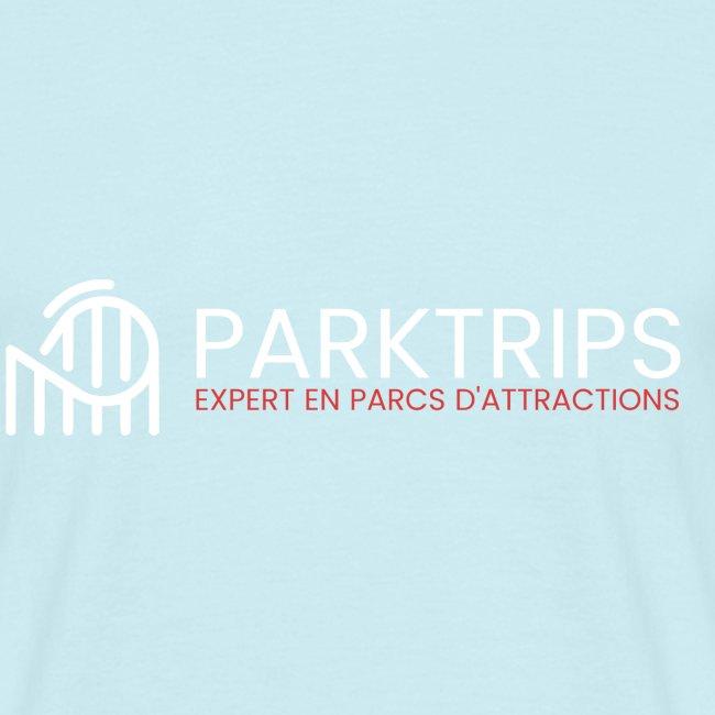 Park Trips - Logo Blanc