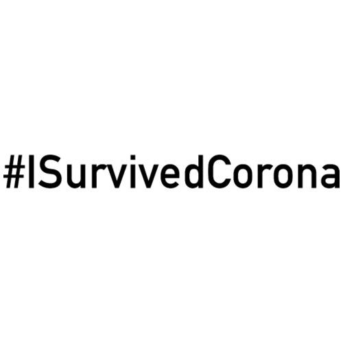 #ISurvivedCorona - Männer T-Shirt