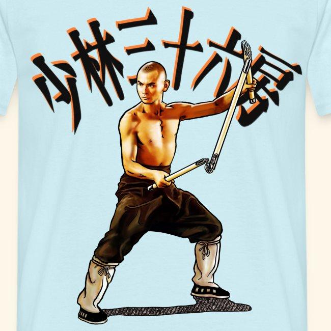 Shaolin Warrior Monk - 3 afdeling personale