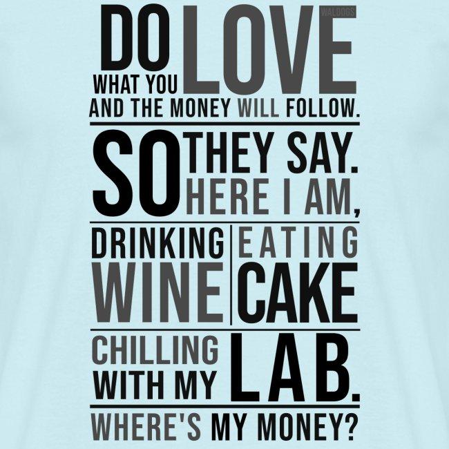 Wine, Cake, Lab III