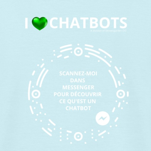dos t shirts chatbot - T-shirt Homme