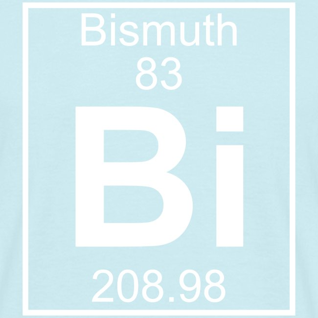 Bismuth Bi Element 83 Men S T Shirt