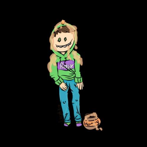 Rawrsome Josh Honig - Männer T-Shirt