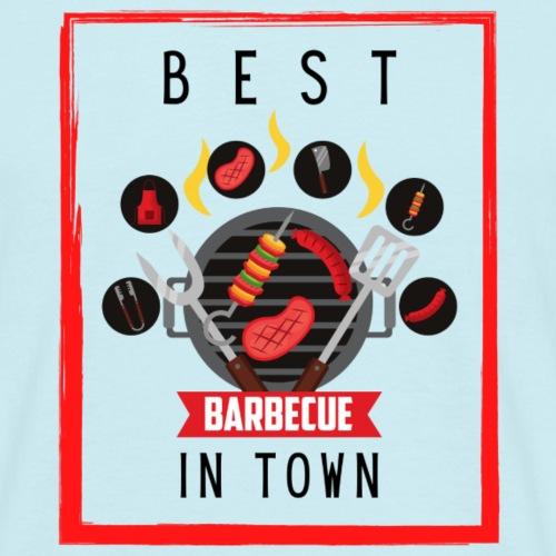 Best BBQ in Town - Männer T-Shirt