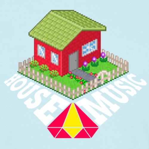 Housemusic - Männer T-Shirt