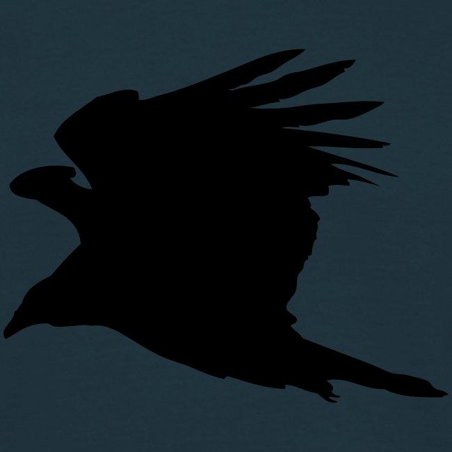 Rabenvogel-Silhouette