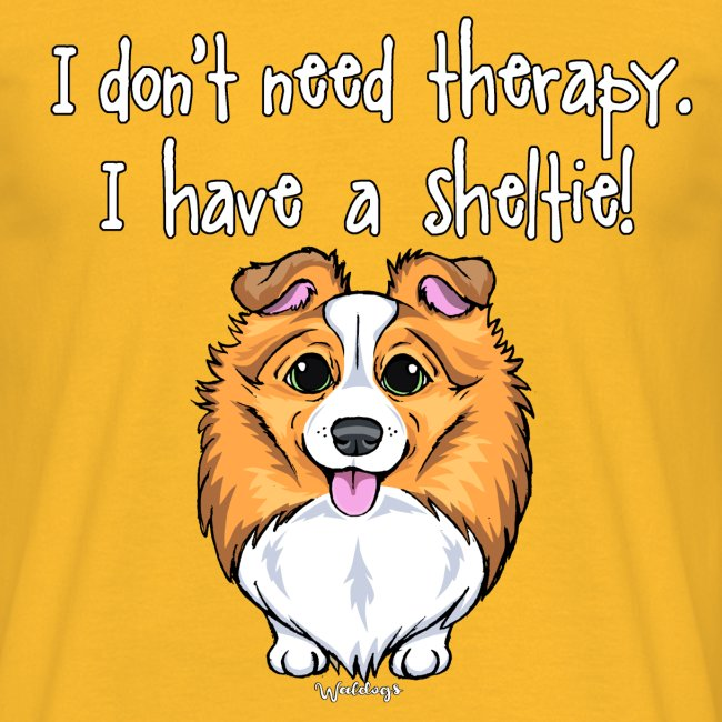 Sheltie Dog Therapy 2