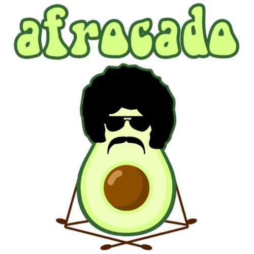 afrocado avocado yoga namaste hippie pace amore - Maglietta da uomo