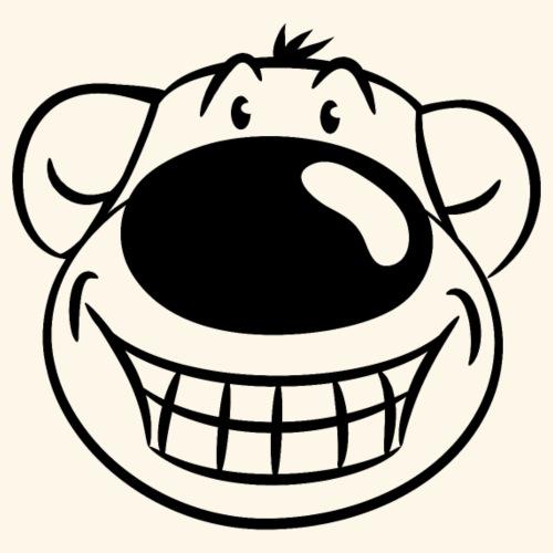 Bär grinst frech - Männer T-Shirt
