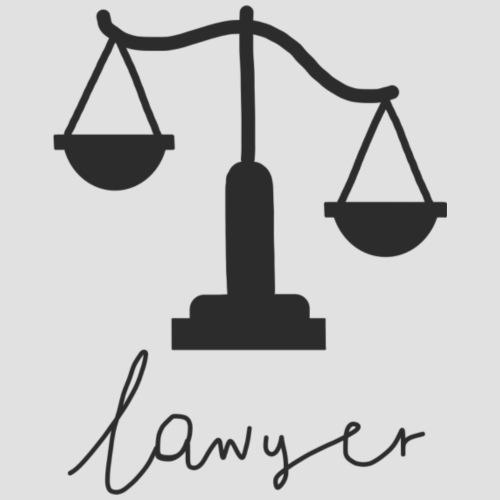 Lawyer - Maglietta da uomo