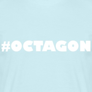 #OCTAGON - T-skjorte for menn