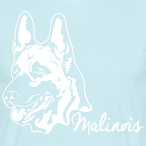 MALINOIS PORTRAIT - Men's T-Shirt