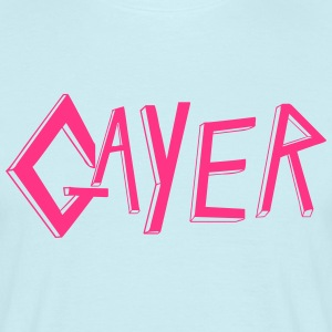 Gayer Slayer - T-shirt herr