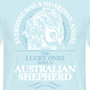 GUARDIAN ANGEL AUSTRALIAN SHEPHERD - Männer T-Shirt