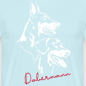 Doberman - Doberman Pinscher - Men's T-Shirt