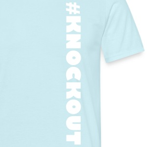 #KNOCKOUT - T-shirt herr
