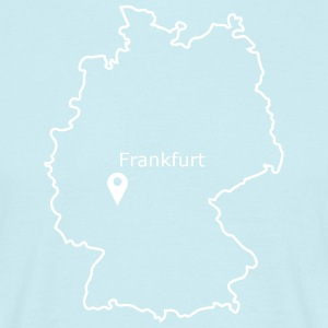 Place to be: Frankfurt - Mannen T-shirt