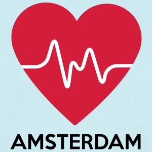 heart Amsterdam - Men's T-Shirt