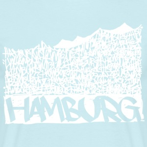 Hamburg Music Hall - White - Männer T-Shirt