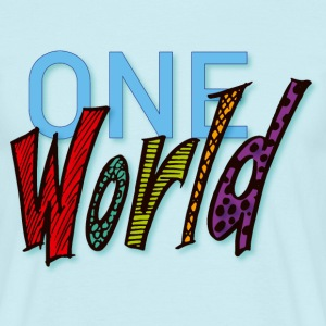 One World - Mannen T-shirt