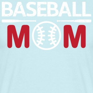 Maman de base-ball - T-shirt Homme