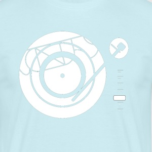 Kynda Music Turntable met - Mannen T-shirt