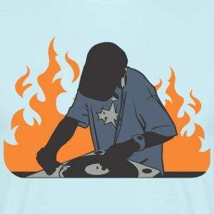 DJ fire - Men's T-Shirt