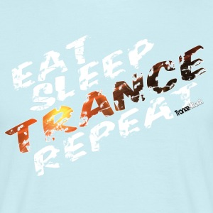 Eat Sleep Trance Repeat V1 - Men's T-Shirt