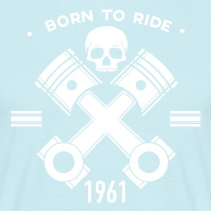 Birthday motorcycle motorcycle - Men's T-Shirt