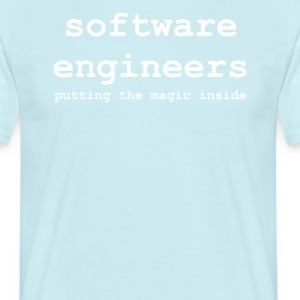 software_engineers - Mannen T-shirt