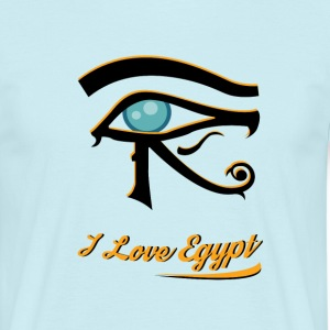 i love Egypt 1 - Men's T-Shirt