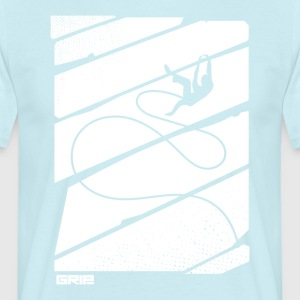 flying rope - Men's T-Shirt