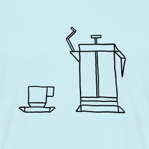 French Press - T-skjorte for menn