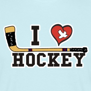I Love Hockey - Männer T-Shirt