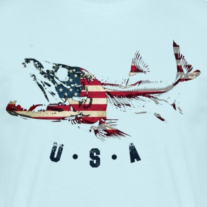 SALMON usa - Mannen T-shirt