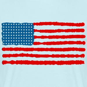 The Red, White and Blue - Mannen T-shirt