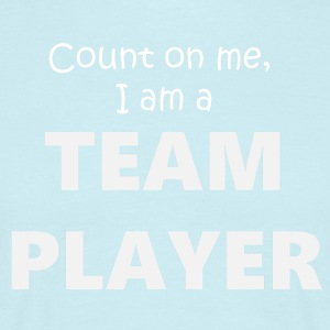 Team Player 4 (2173) - T-shirt herr