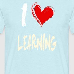 I love to learn - Men's T-Shirt