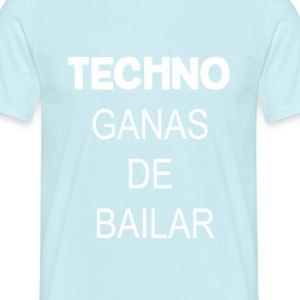 TECHNO - Mannen T-shirt