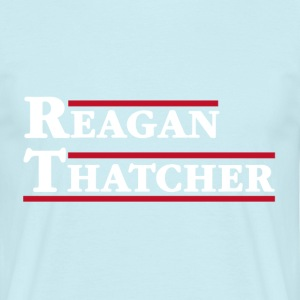 Reagan & Thatcher - Men's T-Shirt