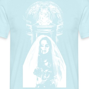 bride_with_rose - Men's T-Shirt