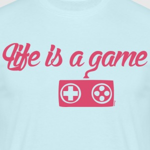 Life is a game (H) - T-shirt Homme