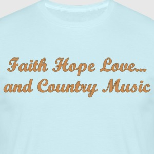 Shirt Faith Hope Love ... - Herre-T-shirt